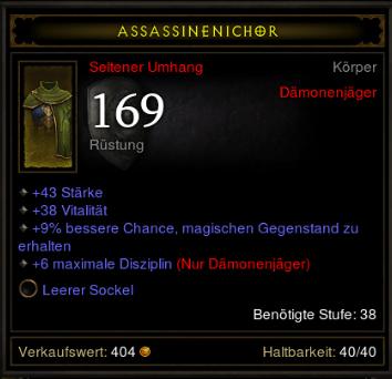 ne zcela ideální přehoz Diablo 3